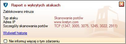 Skanowanie portów www.kretyn.com